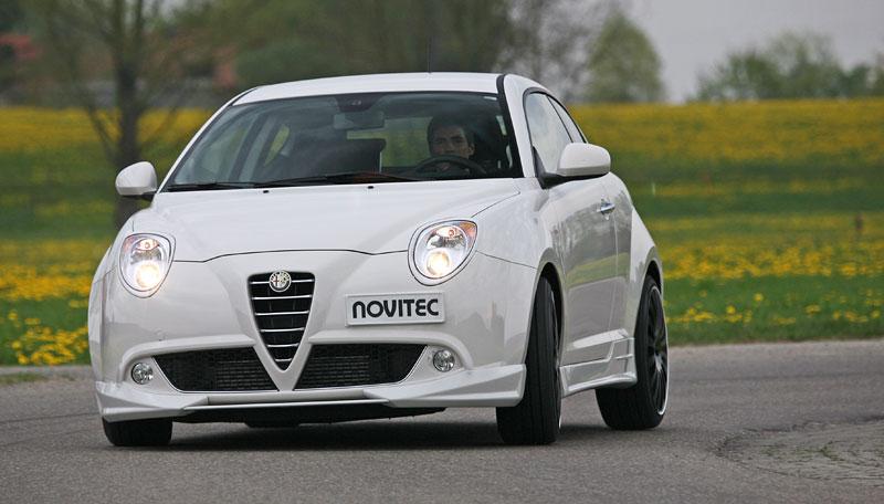Alfa Romeo MiTo: ostřejší vzhled a vyšší výkon od Novitec: - fotka 2