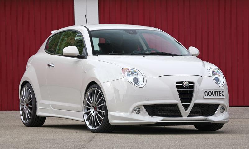 Alfa Romeo MiTo: ostřejší vzhled a vyšší výkon od Novitec: - fotka 3