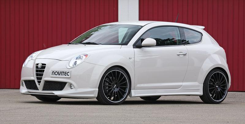 Alfa Romeo MiTo: ostřejší vzhled a vyšší výkon od Novitec: - fotka 4