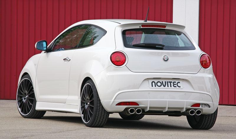 Alfa Romeo MiTo: ostřejší vzhled a vyšší výkon od Novitec: - fotka 9