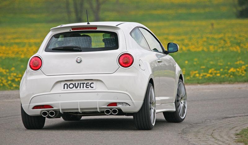 Alfa Romeo MiTo: ostřejší vzhled a vyšší výkon od Novitec: - fotka 13