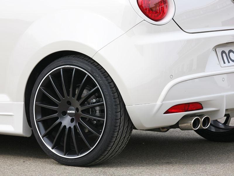 Alfa Romeo MiTo: ostřejší vzhled a vyšší výkon od Novitec: - fotka 20