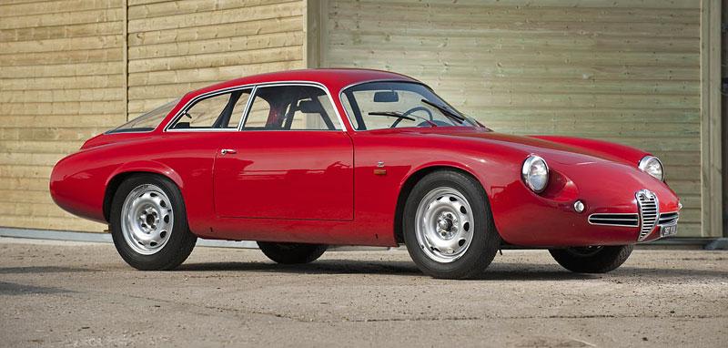 "Alfa Romeo Giulietta SZ ""Coda Tronca"" a TZ Coupé míří do aukce: - fotka 3"