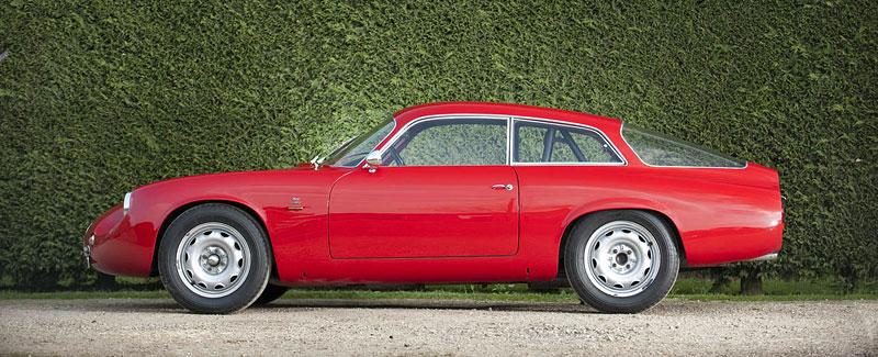 "Alfa Romeo Giulietta SZ ""Coda Tronca"" a TZ Coupé míří do aukce: - fotka 4"