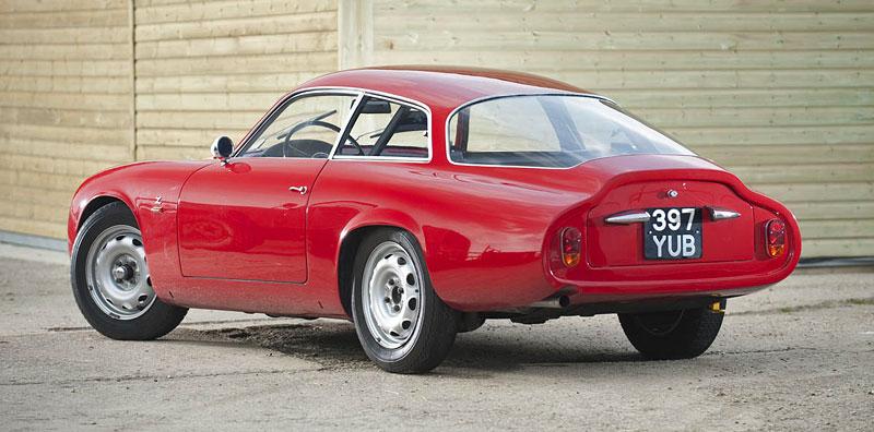 "Alfa Romeo Giulietta SZ ""Coda Tronca"" a TZ Coupé míří do aukce: - fotka 5"
