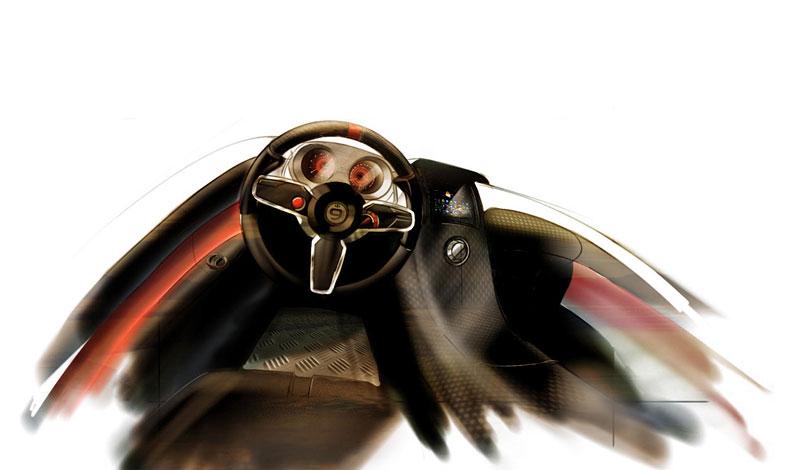 Arturo Arino Reptile: hybridní motokára: - fotka 14