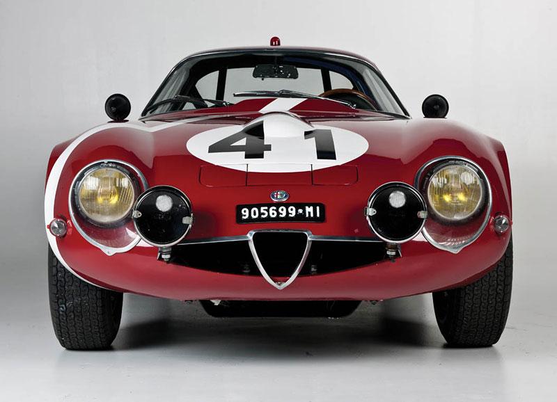 "Alfa Romeo Giulietta SZ ""Coda Tronca"" a TZ Coupé míří do aukce: - fotka 12"