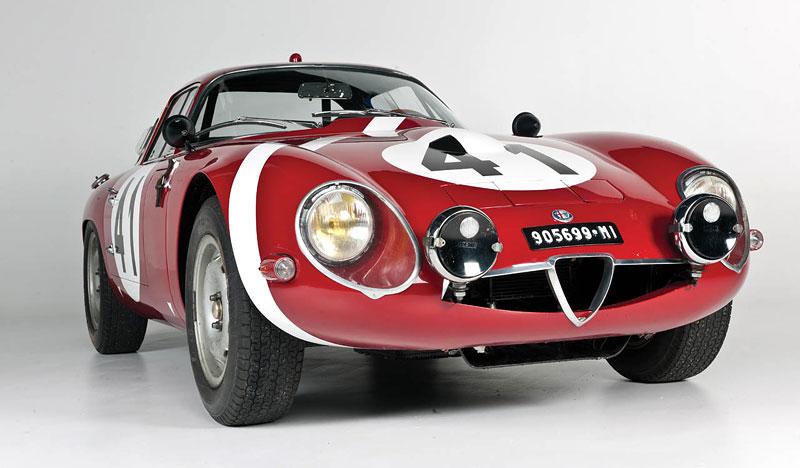 "Alfa Romeo Giulietta SZ ""Coda Tronca"" a TZ Coupé míří do aukce: - fotka 13"