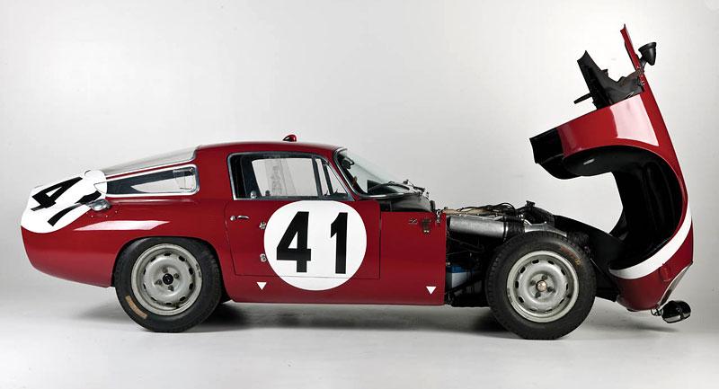 "Alfa Romeo Giulietta SZ ""Coda Tronca"" a TZ Coupé míří do aukce: - fotka 17"