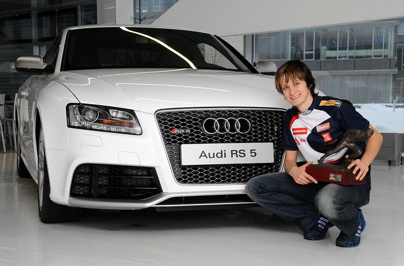 Martina Sáblíková má Audi RS5: - fotka 1