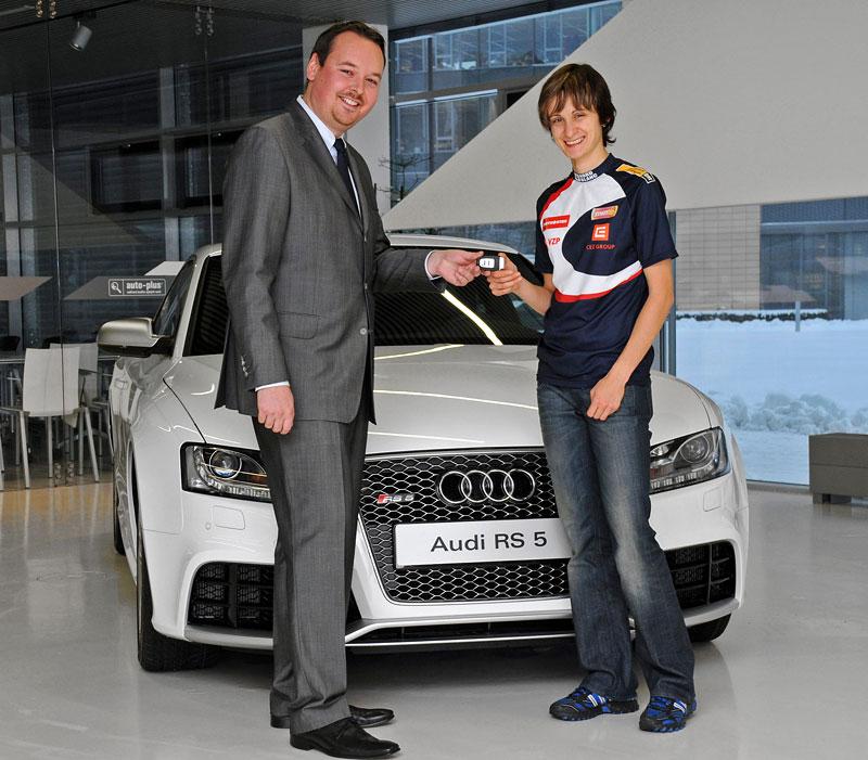 Martina Sáblíková má Audi RS5: - fotka 2
