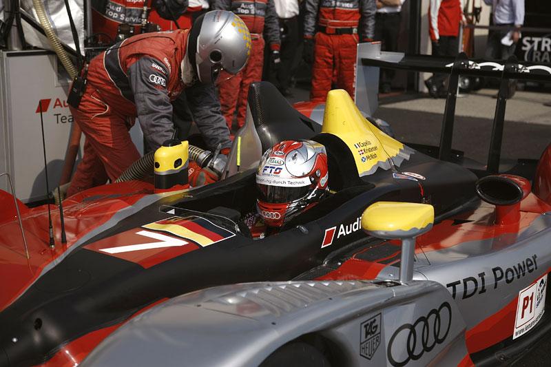 Audi R15 TDI: první start prototypu skončil vítězstvím!: - fotka 17