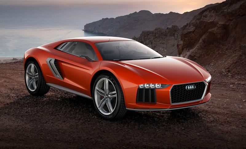 Audi nanuk quattro concept: Terénní skorolambo má V10 TDI: - fotka 1