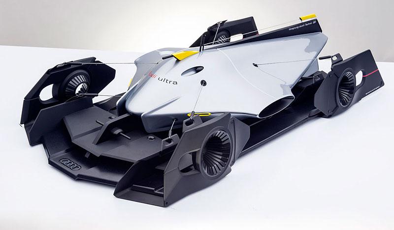 Audi Airomorph: závoďák pro Le Mans budoucnosti: - fotka 2