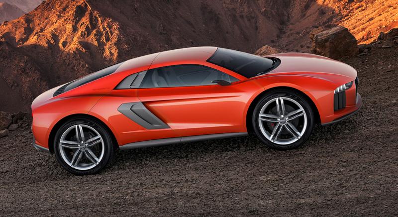 Audi nanuk quattro concept: Terénní skorolambo má V10 TDI: - fotka 2