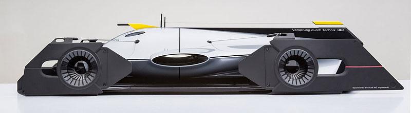 Audi Airomorph: závoďák pro Le Mans budoucnosti: - fotka 3