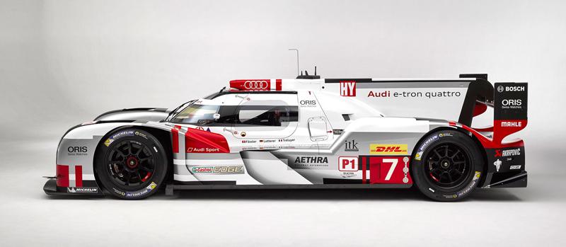 Audi upravuje aerodynamiku R18 e-tron quattro: - fotka 3