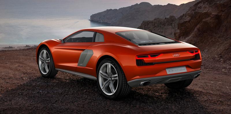 Audi nanuk quattro concept: Terénní skorolambo má V10 TDI: - fotka 3
