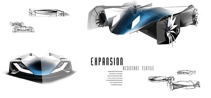 Audi Airomorph: závoďák pro Le Mans budoucnosti: - fotka 13