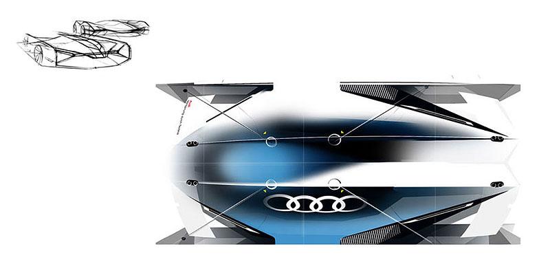 Audi Airomorph: závoďák pro Le Mans budoucnosti: - fotka 14
