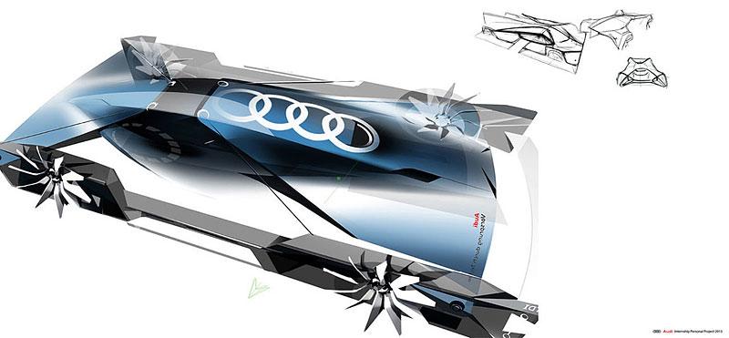 Audi Airomorph: závoďák pro Le Mans budoucnosti: - fotka 15