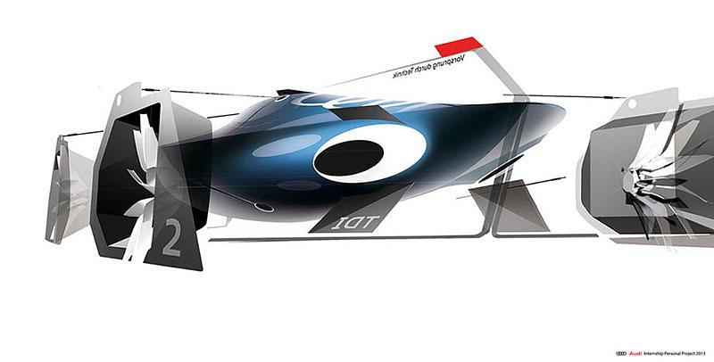 Audi Airomorph: závoďák pro Le Mans budoucnosti: - fotka 16