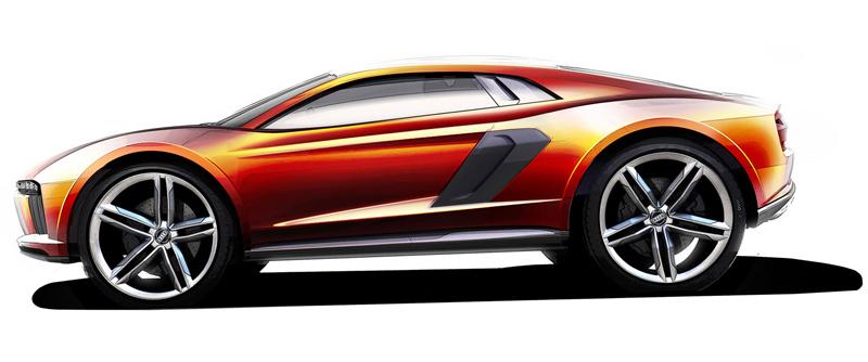 Audi nanuk quattro concept: Terénní skorolambo má V10 TDI: - fotka 12