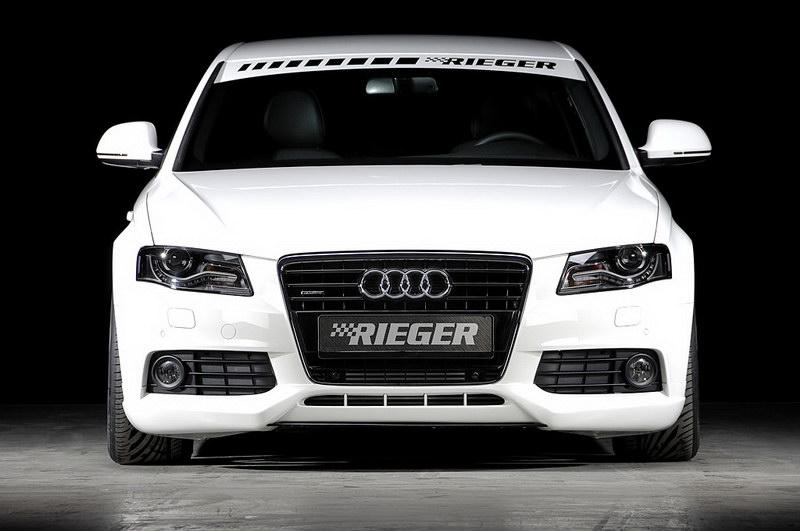 Audi A4 3.0 TDI od Rieger Tuning: - fotka 1
