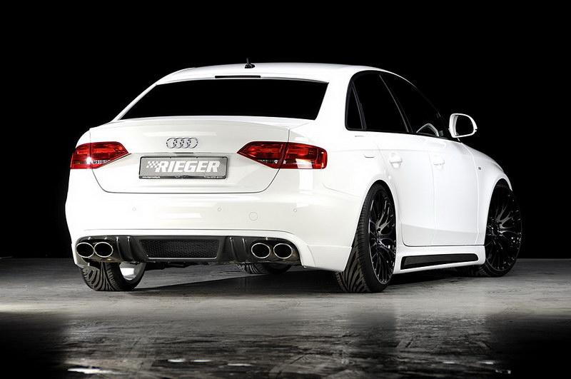 Audi A4 3.0 TDI od Rieger Tuning: - fotka 4