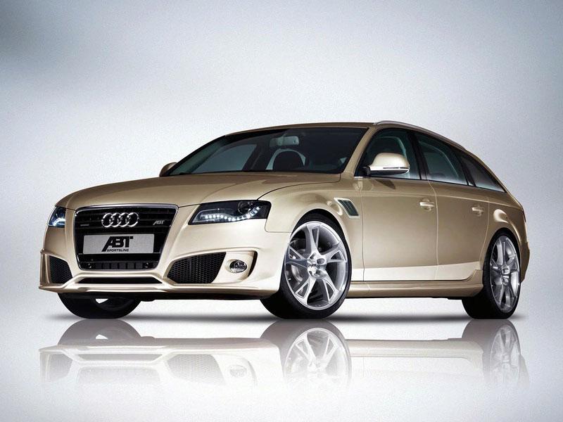 ABT Audi A4 Avant: dynamický stěhovák: - fotka 1