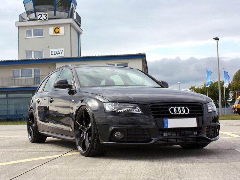 Audi A4 Avant Black Arrow od Avus Performance: - fotka 1
