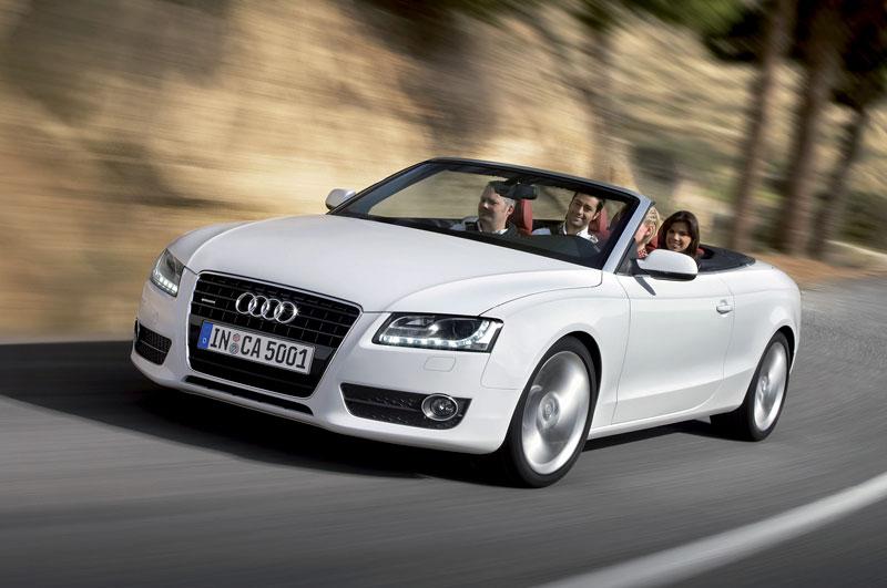 Za volantem: Audi A5 Cabriolet: - fotka 24