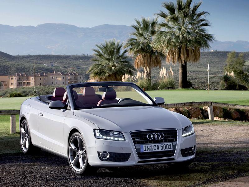 Za volantem: Audi A5 Cabriolet: - fotka 26