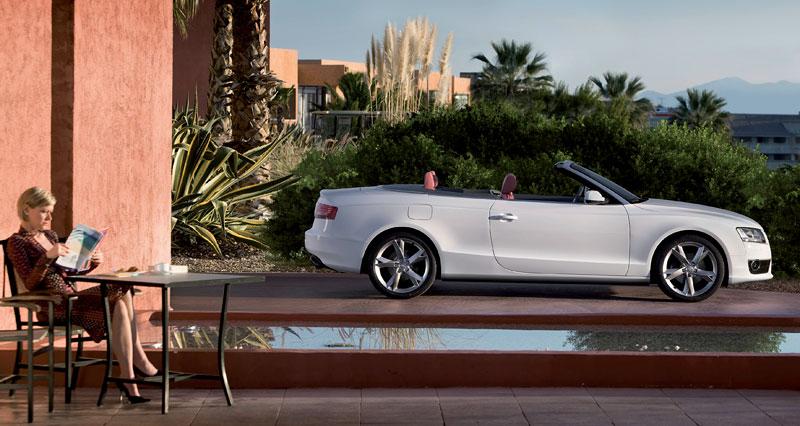 Za volantem: Audi A5 Cabriolet: - fotka 34
