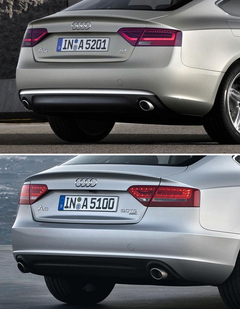 Audi A5 prodělalo facelift a dostalo nové motory: - fotka 66