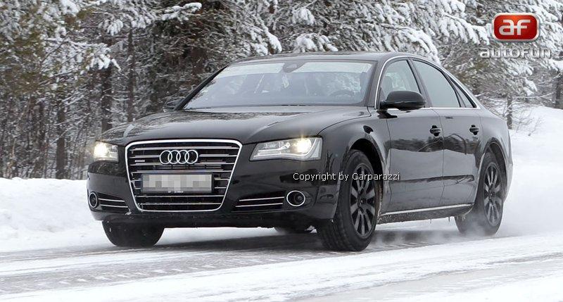 Spy Photos: Audi S8 bez maskování!: - fotka 2