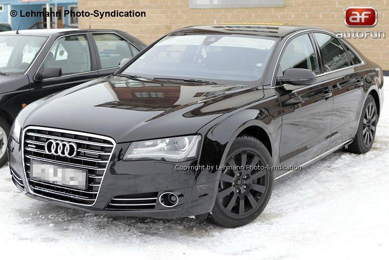 Spy Photos: Audi S8 bez maskování!: - fotka 4