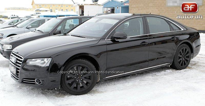 Spy Photos: Audi S8 bez maskování!: - fotka 5