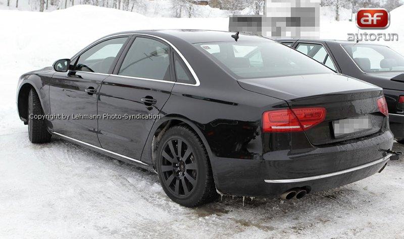 Spy Photos: Audi S8 bez maskování!: - fotka 8