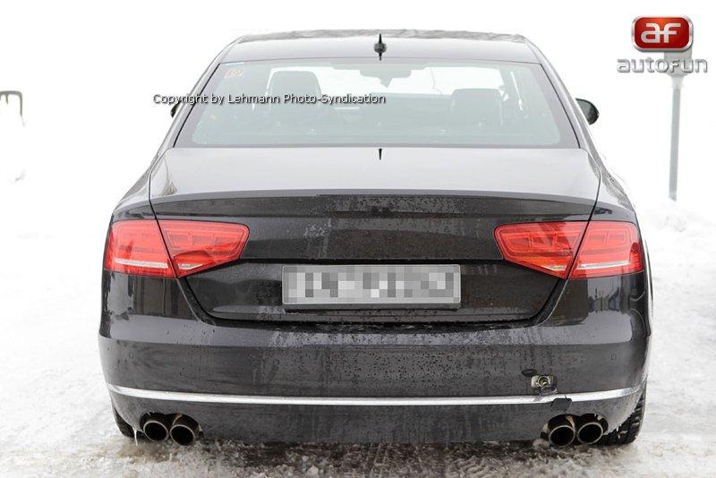 Spy Photos: Audi S8 bez maskování!: - fotka 10