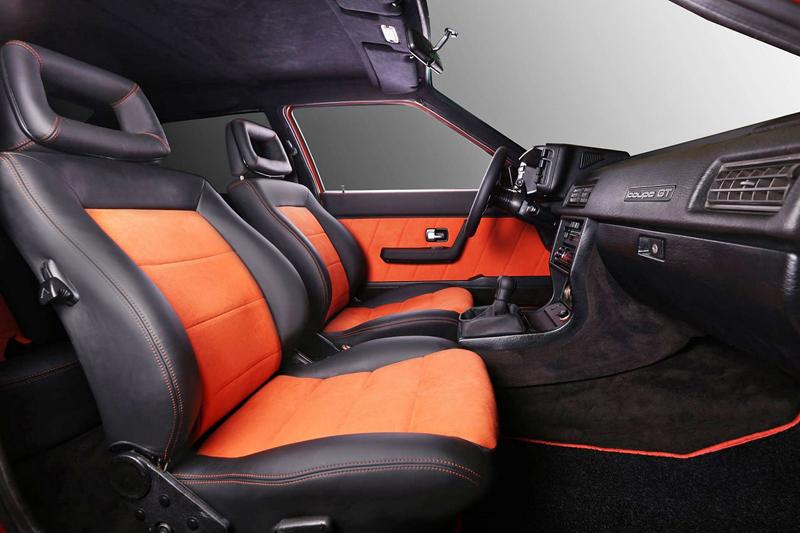 Audi Coupé (B2): Osmdesátková klasika s interiérem od Carbon Motors: - fotka 8