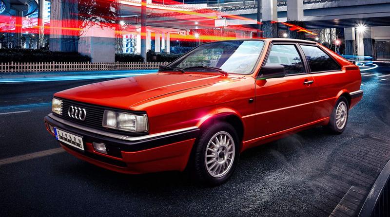 Audi Coupé (B2): Osmdesátková klasika s interiérem od Carbon Motors: - fotka 14