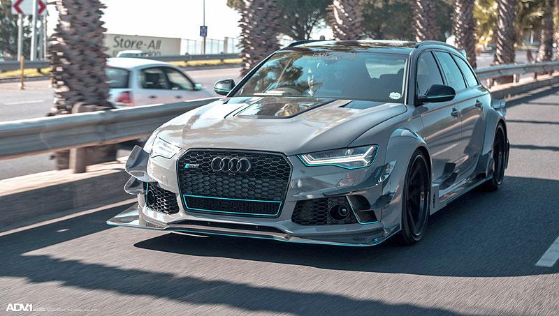 Audi RS 6 Avant chce být závodníkem v DTM: - fotka 4