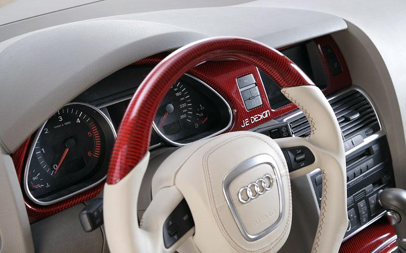 Audi Q7 Street Rocket: více výkonu a sada spoilerů od JE Design: - fotka 1