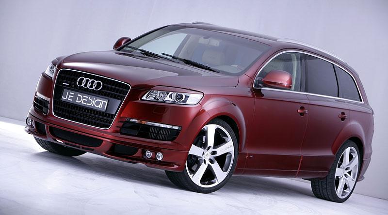 Audi Q7 Street Rocket: více výkonu a sada spoilerů od JE Design: - fotka 7