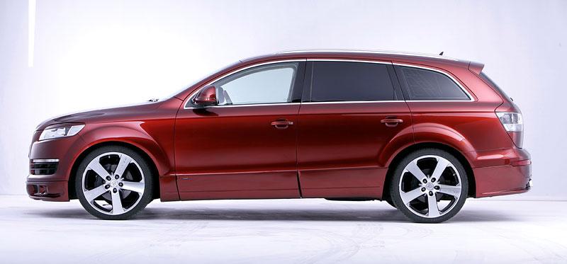Audi Q7 Street Rocket: více výkonu a sada spoilerů od JE Design: - fotka 8