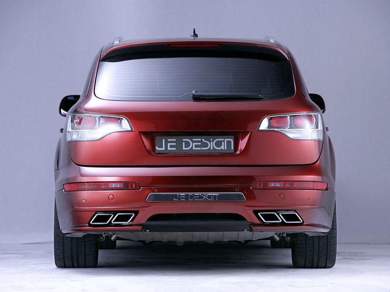 Audi Q7 Street Rocket: více výkonu a sada spoilerů od JE Design: - fotka 10