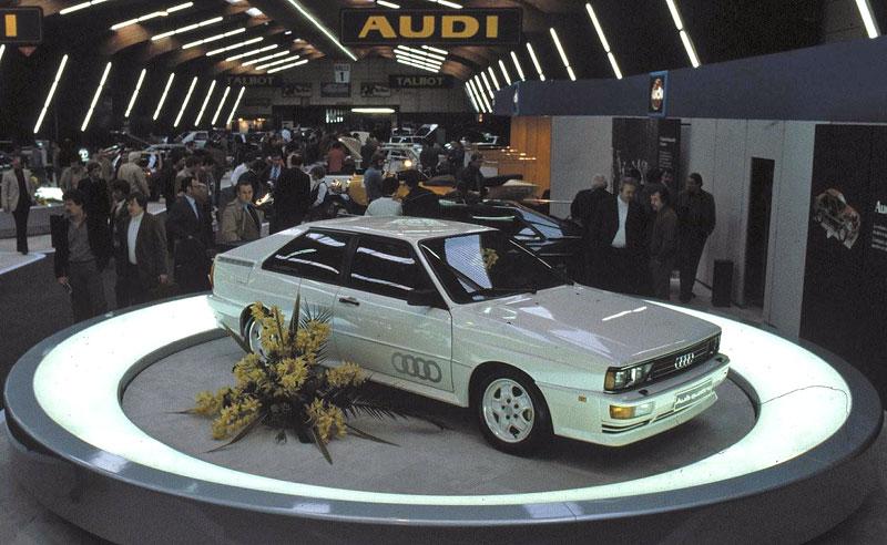 Audi Quattro: Třicet let pohonu všech kol: - fotka 1