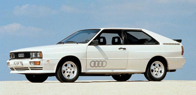 Audi Quattro: Třicet let pohonu všech kol: - fotka 2