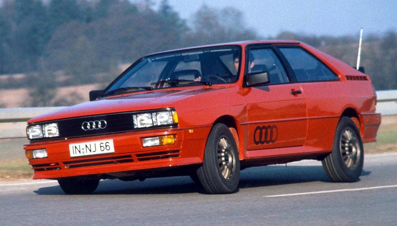 Audi Quattro: Třicet let pohonu všech kol: - fotka 3